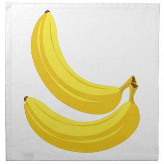 Bananen Stoffserviette
