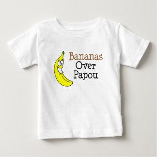 Bananen über Papou Baby T-shirt