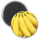 Bananen, verrückte Bananen Kühlschrankmagnete