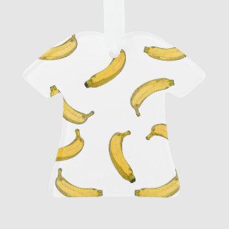 Bananenmuster-Skizzeversion Ornament