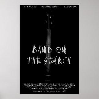 Band auf dem Suchplakat Poster