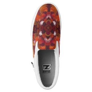 Band-Blumenschuhe Slip-On Sneaker