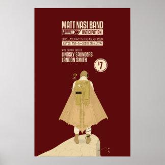 Band-Dampf-Punk-Plakat Matts Nasi. 1 von 2 Poster