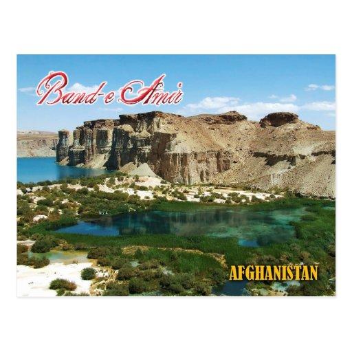 Band-e Emir, Afghanistan Postkarten
