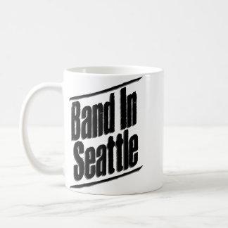 Band in Seattle-Logo Kaffeetasse