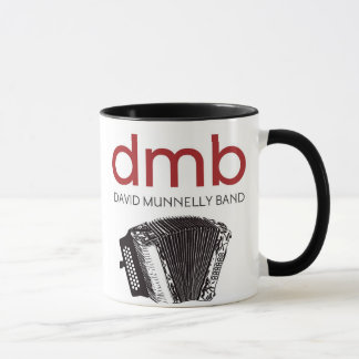 Band-Logo-Akkordeon-Tasse Davids Munnelly Tasse