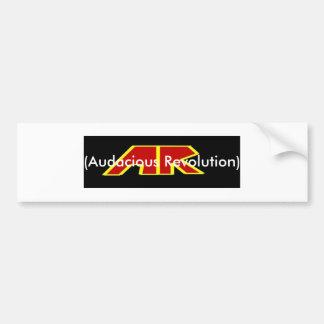 Band-Logo-Fahne, (kühne Revolution) Autoaufkleber