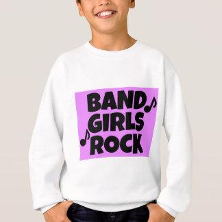 Band-Mädchen-Rock Sweatshirt