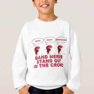 Band-Nerds stehen heraus Sweatshirt