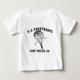 Band of Brothers Currahee US Paratrooper Toccoa Baby T-shirt