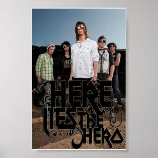 Band-Plakat Poster