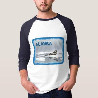Band-Siegel auf Eis T-Shirt