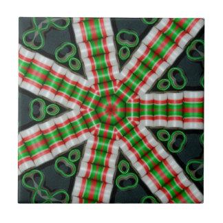 Band-Süßigkeit sieben im Dezember 2012 Keramikfliese