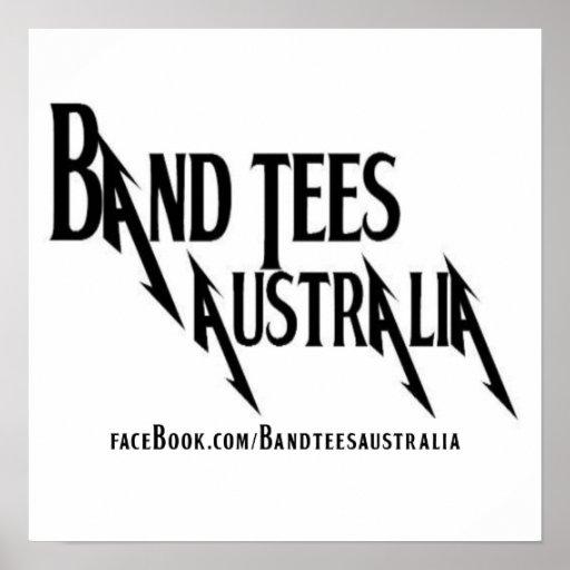 Band-T-Stück Plakat