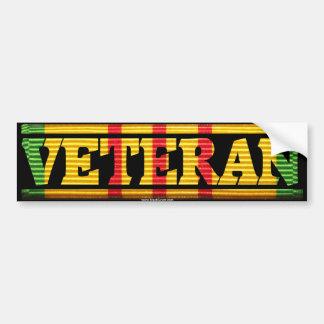 Band Vietnam-Veteranen-VSM Autoaufkleber