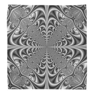Bandana-gotische Geometrie im Monochrom Kopftuch