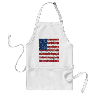 Bandana-Muster-amerikanische Flagge Schürze