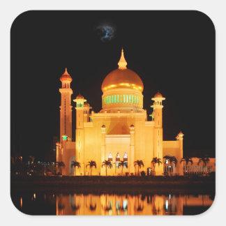 Bandar Seri Begawan Quadratischer Aufkleber