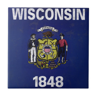 Bandeira De Wisconsin Keramikfliese
