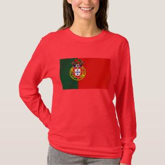 Bandeira Portuguesa Classica por Fás De Portugal T-Shirt
