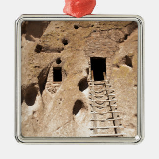 Bandelier New Mexiko-Petroglyphe-alter Inder Silbernes Ornament