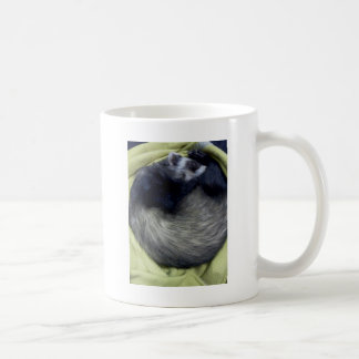 Bandit das Frettchen-Schlafen Kaffeetasse