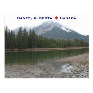 Banff Alberta Kanada Postkarte
