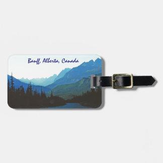 Banff-Jaspis-Blau Kofferanhänger