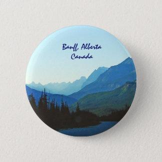 Banff-Jaspis-Blau Runder Button 5,7 Cm