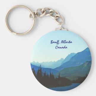 Banff-Jaspis-Blau Schlüsselanhänger