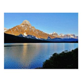 Banff-Park See Postkarte