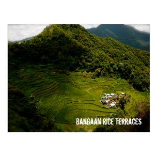 Bangaan Reis-Terrassen Postkarte