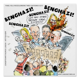 Banghazi als Politik benötigen wir Poster