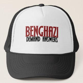 Banghazi-Nachfrage-Antworten Truckerkappe