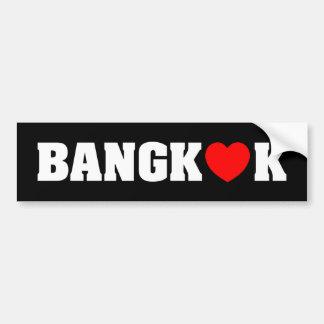 BANGKOK-LIEBE AUTOAUFKLEBER