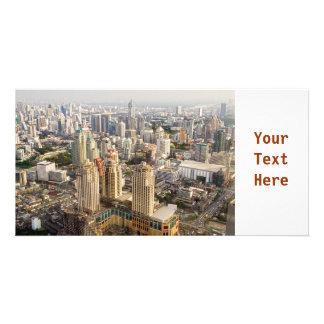 Bangkok-Stadtbild Photo Grußkarte