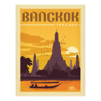 Bangkok, Thailand Postkarte