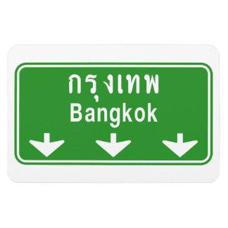 Bangkok voran passen heraus auf! ⚠ magnet