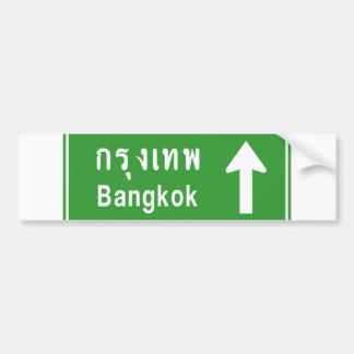 Bangkok voran ⚠ thailändisches autoaufkleber