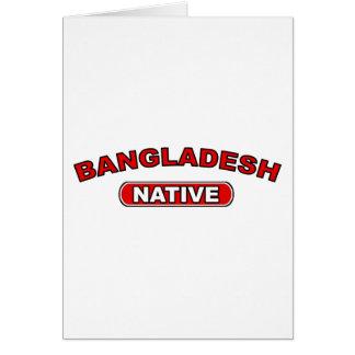 Bangladesch-Eingeborener Karte