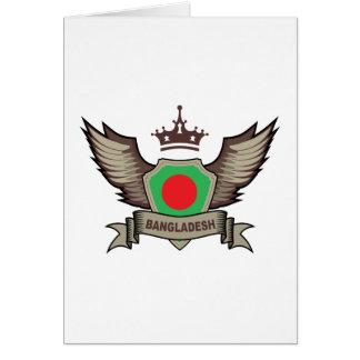 Bangladesch-Emblem Karte