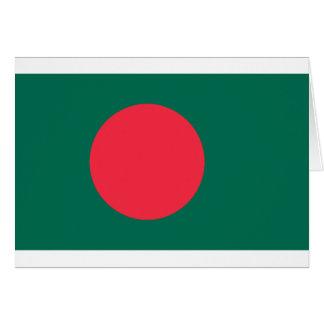 Bangladesch-Flagge BD Karte
