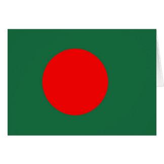 Bangladesch-Flagge Karte