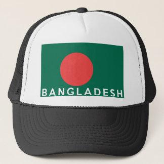 Bangladesch-Landesflaggesymbol-Namentext Truckerkappe