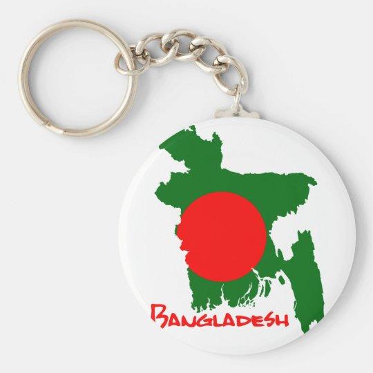 Bangladesch Map Schlüsselanhänger