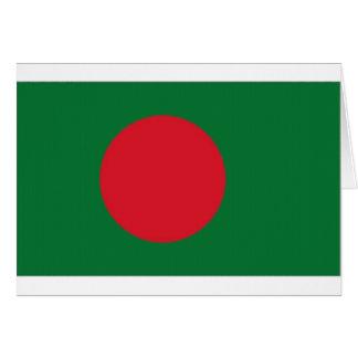 Bangladesch-Staatsflagge Karte