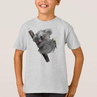 Banjo-Koala und Benji Vogel T-Shirt