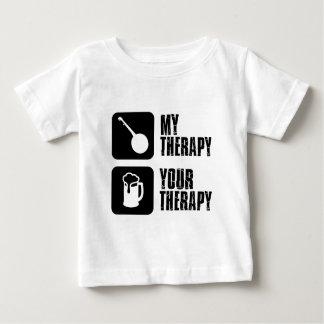 Banjo meine Therapie Baby T-shirt