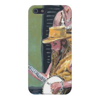 Banjo-Spieler iPhone 5 Case