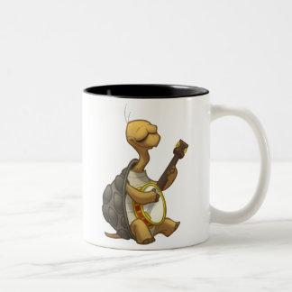 Banjo-Strummin' Schildkröten-Tasse
